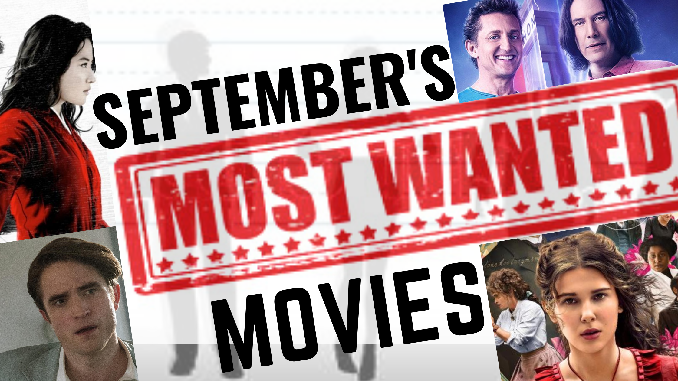 Septembers most wanted movies