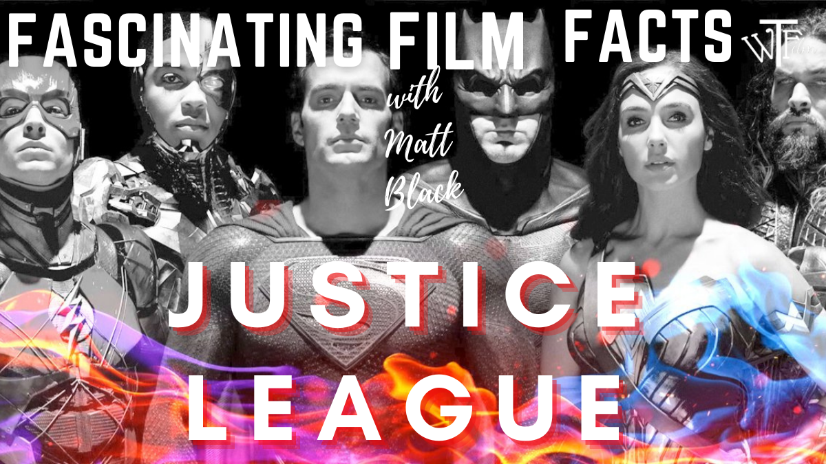 justice league movie facts